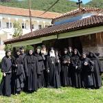 Замонашување во Манастирот Журче
