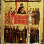 Torzhestvo_Pravoslaviya._Vizantiya._Konstantinopol._14v._39_h_31._Britanskij_muzej