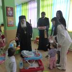 Посета на Домот за доенчиња и мали деца, во Битола