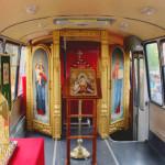 Храм-автобус по запуштените региони на Татарстан
