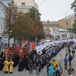20 000 луѓе на улиците на Киев, на литијата за свети Владимир, крстителот на Русија