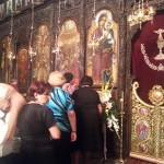 Вечерна во храмот Рождество на Пресвета Богородица – Битола