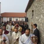 """Големо осветување на црквата """"Свети Никола"""" во Карамани"""