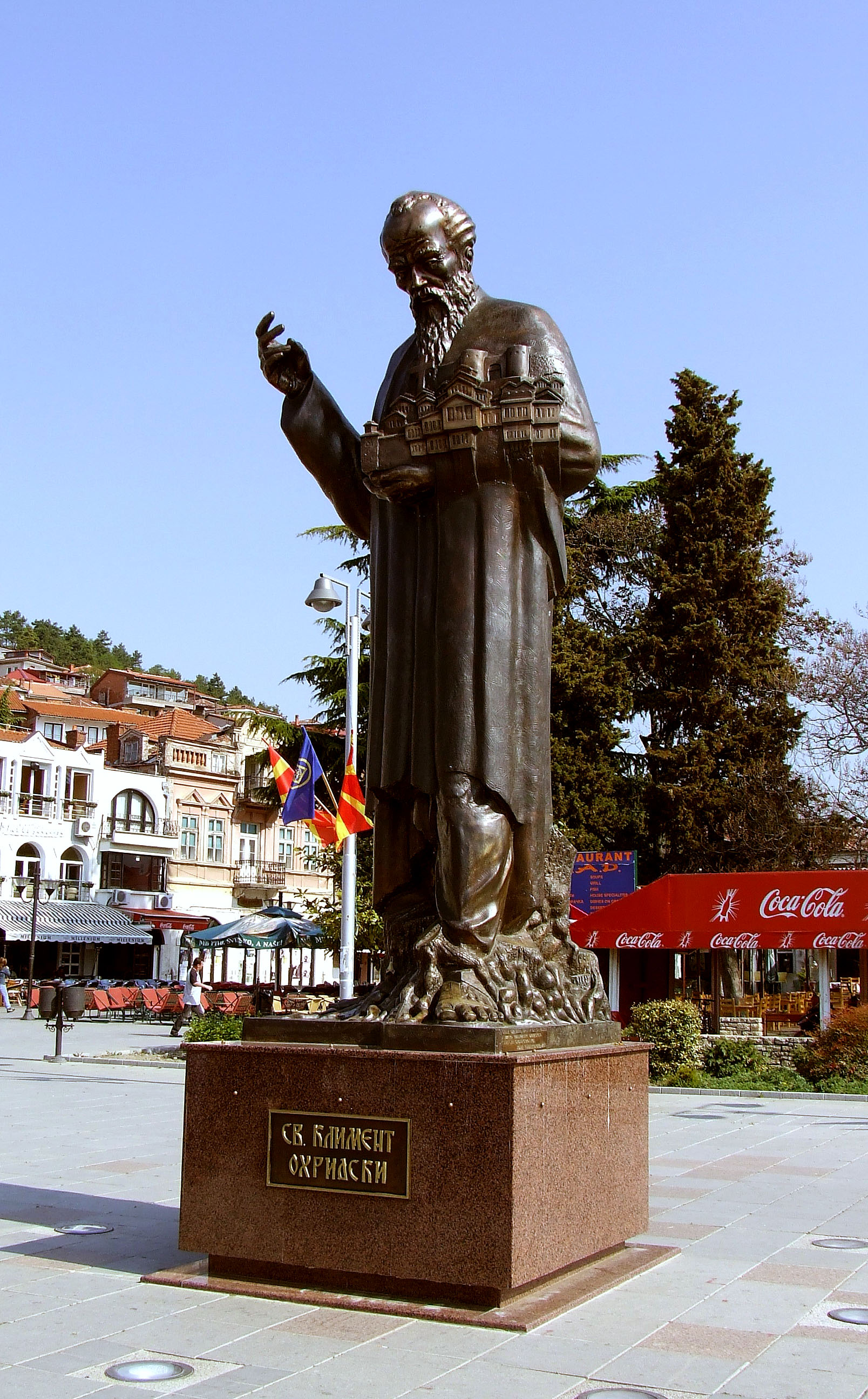 St_Clement_of_Ohrid_with_model