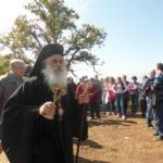 Осветување на темели за манастир Св. Атанасиј во Ропотово, Прилеп