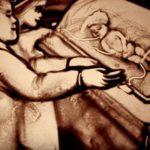 """""""Малечко чудо"""" – песочна анимација на Ксенија Симонова"""