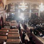 Тридневна жалост во Каиро. Се одржа погребот на 23 убиени Коптски христијани