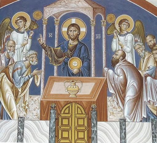 prichastenie apostolov