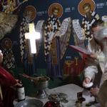Осветена пештерната црква на Вознесението Господово во Евла