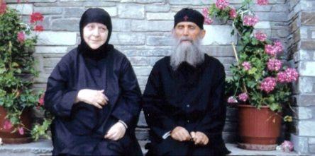 Старица Макрина и старец Ефрем Аризонски