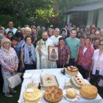 Божествена Литургија во Света Троица (Руската црква)