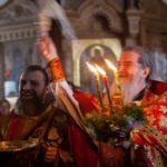Наградување на игуменот Методиј (Петров) со орден на преподобен Серафим Саровски на Руската Православна Црква