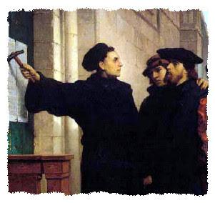 Мартин Лутер и 95 Тезиси