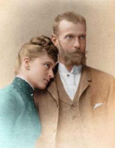 Светата кнегиња Елисавета Фјодоровна и нејзиниот сопруг Сергеј Александрович (Романови)