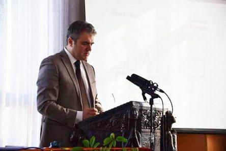 Проф. д-р Ѓоко Ѓорѓевски Декан на Богословскиот факултет во Скопје