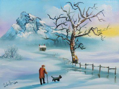 "Гордон Брус,  ""Старец и куче"""