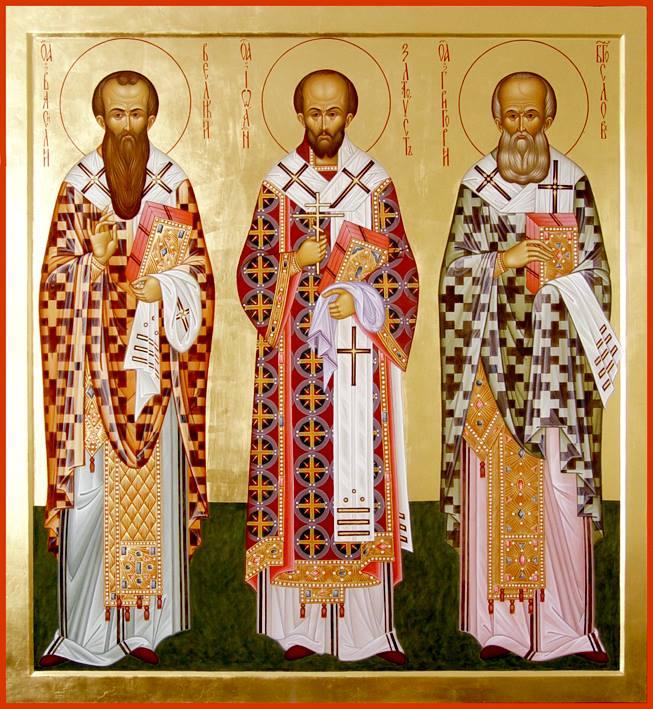 Свети Три Светители  (Светите Јован Златоуст, Василиј Велики и Григориј Богослов)