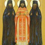 Спомен на Оптинските преподобномаченици, убиени на Велигден (1993 г)