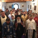 """Празнична Вечерна богослужба во манастирот """"Свети Петар и Павле"""", во село Црнеец"""