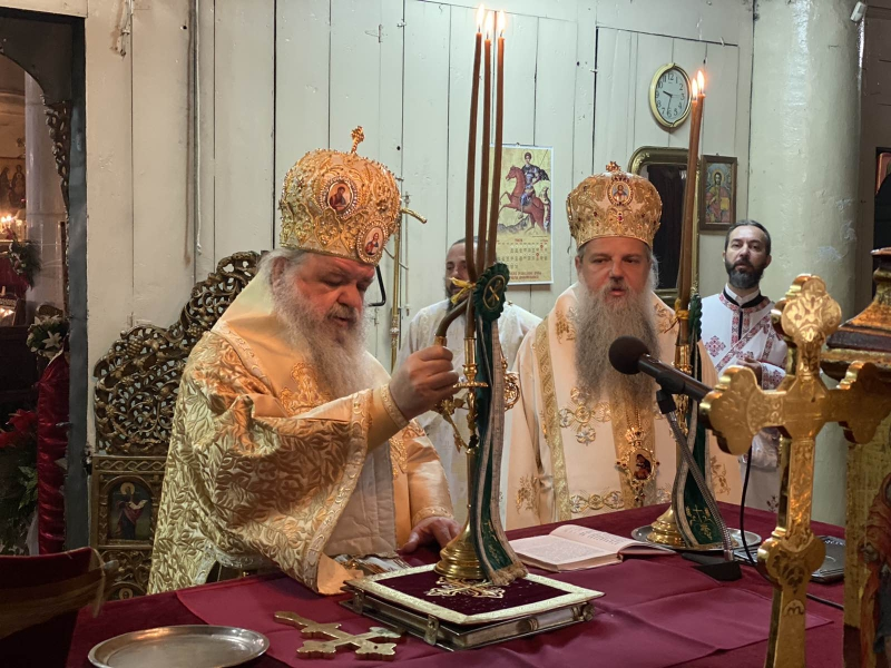 """Архиепископот Охридски и Македонски г.г. Стефан: """"Како христијани сме повикани денес да бидеме сведоци Христови"""""""