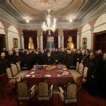 Бадникова вечера со свештенството од Преспанско-пелагониската епархија
