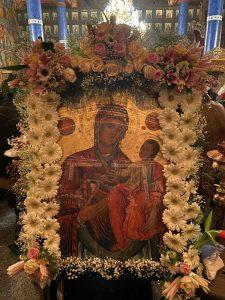 Чудотворна икона на Мајката Божја, Пресвета Богородица, во хрмот Рождество на Пресвета Богородица