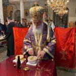"Задушница – Света Архиерејска Заупокоена Литургија во храмот ""Свети Великомаченик Димитриј"" во Битола"