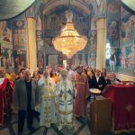 """Недела на Сите Свети – Света Архиерејска Литургија во храмот """"Свети Архангел Гаврил"""", во Довлеџик"""