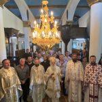 """Недела на Сите Свети – Света Архиерејска Литургија во храмот """"Свети Великомачени Димитриј"""", во Буково"""